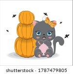 Black Halloween Baby Cat Girl ...