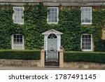 Facade Of A Traditional House...