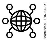 international remote access... | Shutterstock .eps vector #1787618015