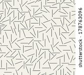 vector lines pattern. seamless... | Shutterstock .eps vector #178763096