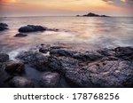 Rocks And Ocean At Om Beach In...