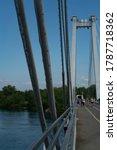 Suspension Bridge Cables With...