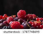 Tasty Fresh Ripe Raspberry ...