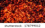 Abstract Background Of Burning...