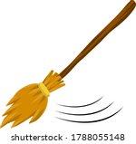 broom. rustic item for house...   Shutterstock .eps vector #1788055148