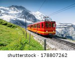 Famous Train With Jungfrau...