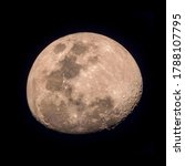 The Waxing Gibbous Moon At...