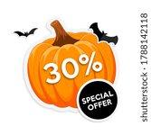 halloween sale promotion... | Shutterstock .eps vector #1788142118