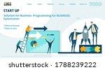 flat design website or app page ... | Shutterstock .eps vector #1788239222