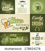 st. patrick's day design... | Shutterstock .eps vector #178824278