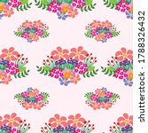 colorful floral seamless... | Shutterstock .eps vector #1788326432