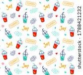 bright cute seamless pattern... | Shutterstock .eps vector #1788421232