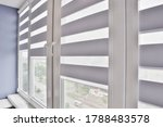 Office blinds. modern jalousie. ...