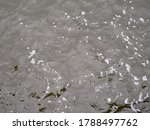 Close View Of The Surface Of...