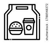 take away online order filled...   Shutterstock .eps vector #1788548372