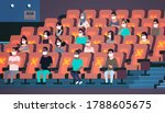 people in protective masks... | Shutterstock .eps vector #1788605675