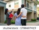 Asian Woman Real Estate Broker...