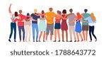 happy people. diverse multi... | Shutterstock .eps vector #1788643772