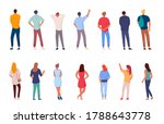 people character. man and woman ... | Shutterstock .eps vector #1788643778