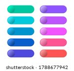 collection blank template of... | Shutterstock .eps vector #1788677942