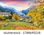Stunning Autumn View Of...