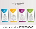 creative business infographic...   Shutterstock .eps vector #1788708545