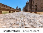 Ancient Paved Stone Road In The ...