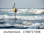 Traditional Stilt Fisherman In...