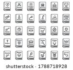 Literary Genres Book Icons Set. ...