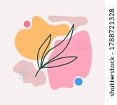 absract vector background with... | Shutterstock .eps vector #1788721328