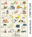 Abc Animals And Various Object...