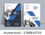 corporate book cover design... | Shutterstock .eps vector #1788810755