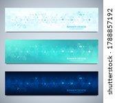 banner design template. concept ... | Shutterstock .eps vector #1788857192