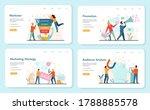 marketer web banner or landing...   Shutterstock .eps vector #1788885578