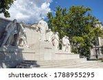 Kossuth Memorial Refers To One...