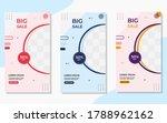 collection of minimalist big... | Shutterstock .eps vector #1788962162