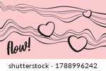 vector abstract pink and black... | Shutterstock .eps vector #1788996242
