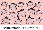 vector abstract pink girly... | Shutterstock .eps vector #1788996248