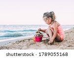 A Girl On The Beach. The Girl...