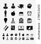 education 3 | Shutterstock .eps vector #178912652