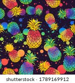 Colorful Pineapples With Pride...