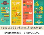 ecology infographic template. | Shutterstock .eps vector #178920692