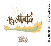 boitat . fantastic creature of  ... | Shutterstock .eps vector #1789220102