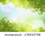 Fresh Spring Green Background...