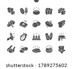 bread well crafted pixel... | Shutterstock .eps vector #1789275602