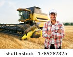 Portrait Of Proud Harvester...