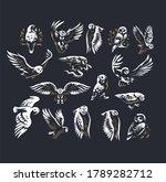 set of vector illustrations.... | Shutterstock .eps vector #1789282712