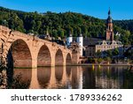 Heidelberg Old Town Panorama...