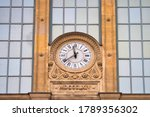 Clock In Paris Train Station