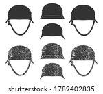 Ww2 German Style War Helmet...